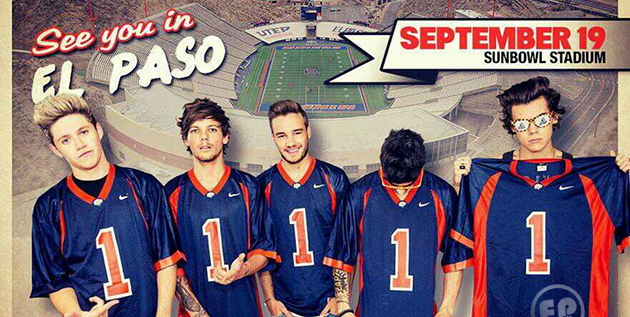One Direction Coming to El Paso