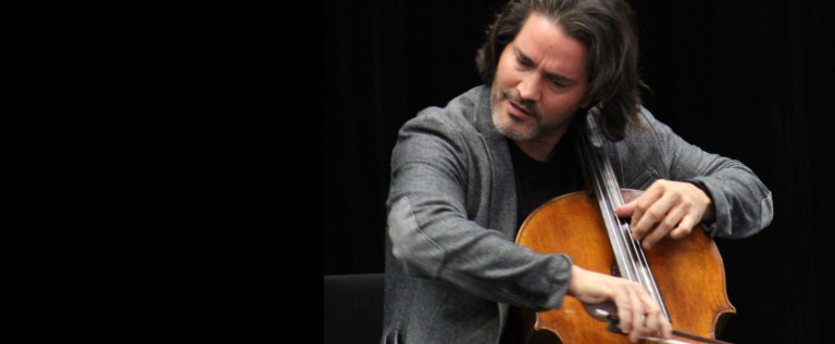 Widely-known cellist performs