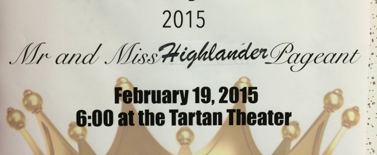 Mr. and Ms. Highlander Pageant