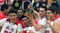 Boys basketball takes bi-district title from Burges