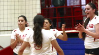 Varsity volleyball earns another win