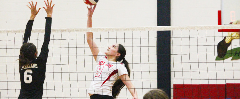 Varsity volleyball hopes to advance to playoffs