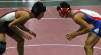 Wrestling picks up wins at Bowie meet