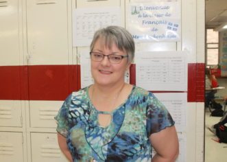 French teacher hopes to inspire students