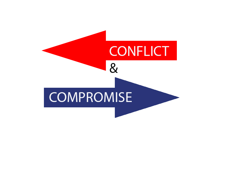 conflict and compromise the case of In this case of conflict and compromise, the supreme court lived up to jefferson's words and expanded the reach of freedom by resolving a conflict between captured.
